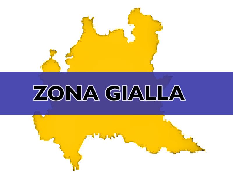 zona GIALLA lombardia
